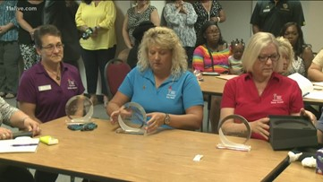 Gwinnett County Public Schools honors employees who helped save co-worker's life