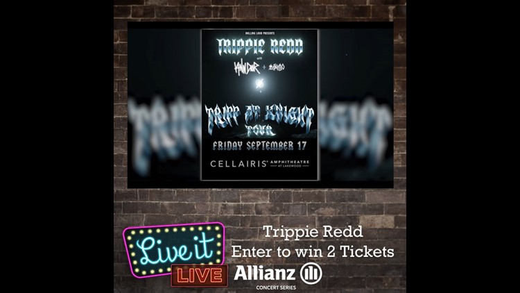 Enter to win 2 tickets to see Trippie Redd!