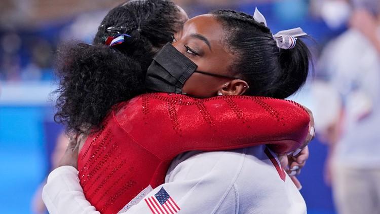 Simone Biles vault during Tokyo Olympics 2021   Here's what happened