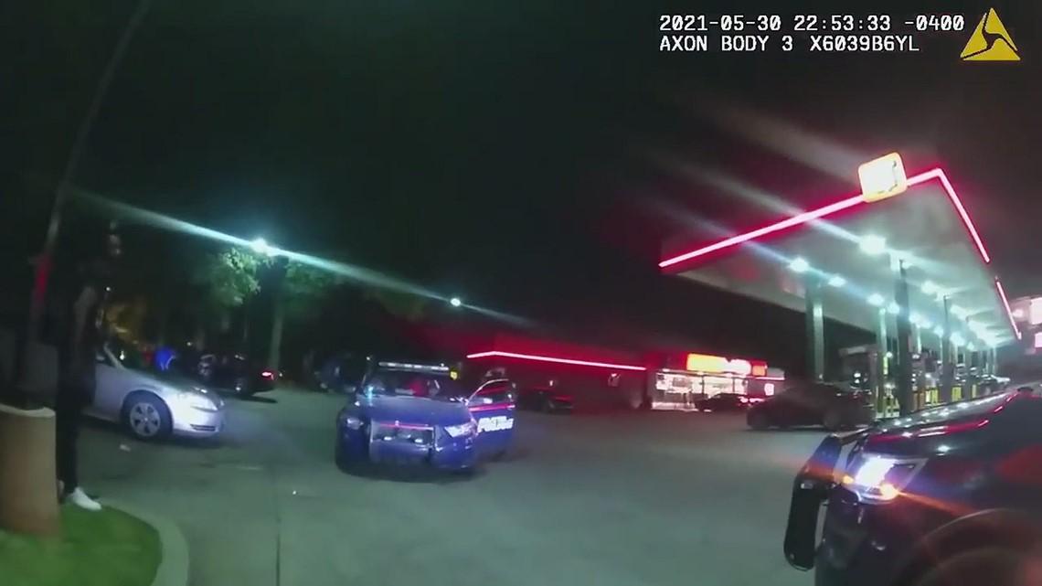 Bodycam Video | Atlanta Police thwart slider crime at Buckhead gas station, arrest teen with stolen gun
