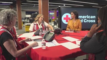 11Alive, American Red Cross work together in Hurricane Michael telethon