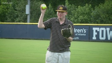 Blind athlete leads charge to bring softball players, those with disabilities together