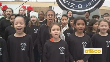 Bells Ferry Chorus is in the holiday spirit for Can-A-Thon