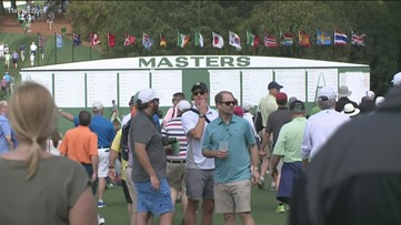 Masters tee times adjusted due to chance for severe weather