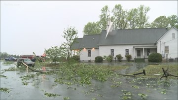 Confirmed tornado to blame for church's damage ahead of Easter