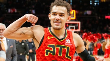 WATCH: This Trae Young buzzer-beater might be the Hawks' best highlight of the year