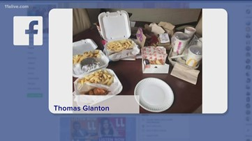Social media weighs in on students getting food delivered at school