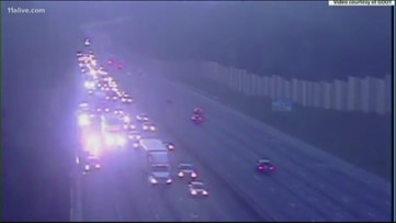 Crash on I-20 WB cause of bumper to bumper traffic
