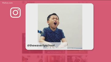 This little kid's rendition of 'Sweet Love' is going viral