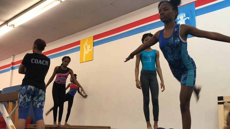 Training Session at Airborne Gymnastics Club USA in College Park