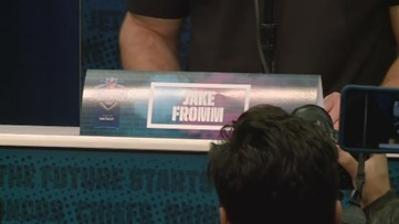 Ex-UGA QB Jake Fromm speaks at NFL Combine