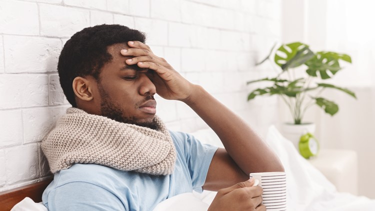 Why do cold and flu symptoms seem worse at night?