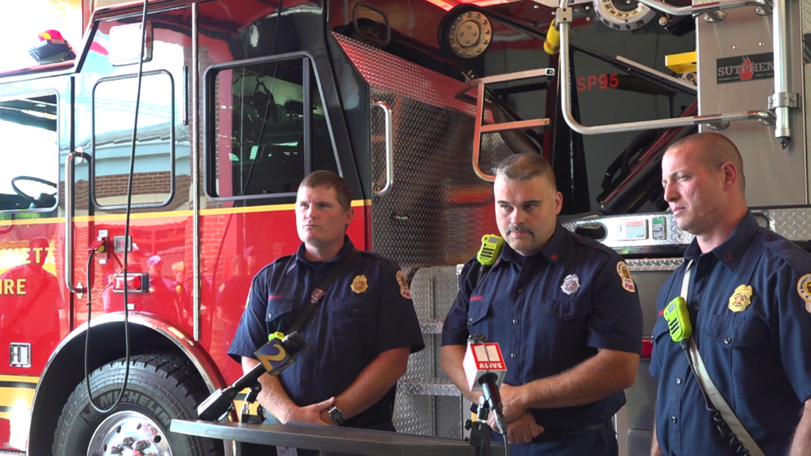 Gwinnett firefighters recall dramatic river rescue