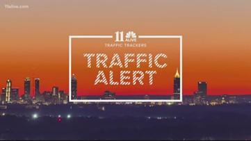 All lanes blocked on I-75 in Marietta after fatal crash