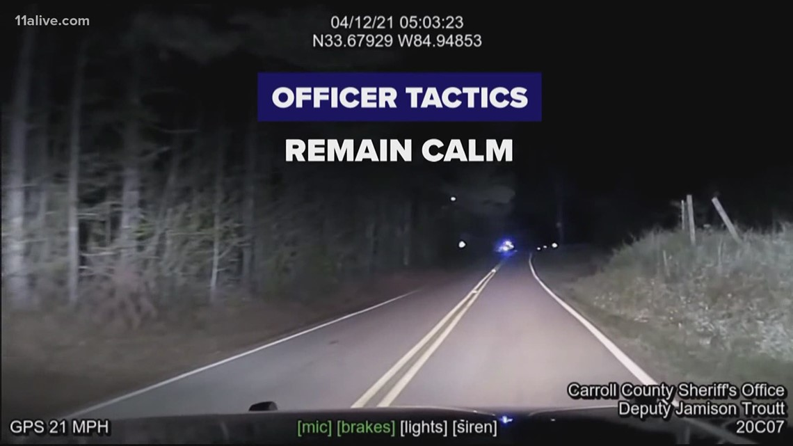 Dashcam video of Carroll County chase | 11Alive breaks down what happened