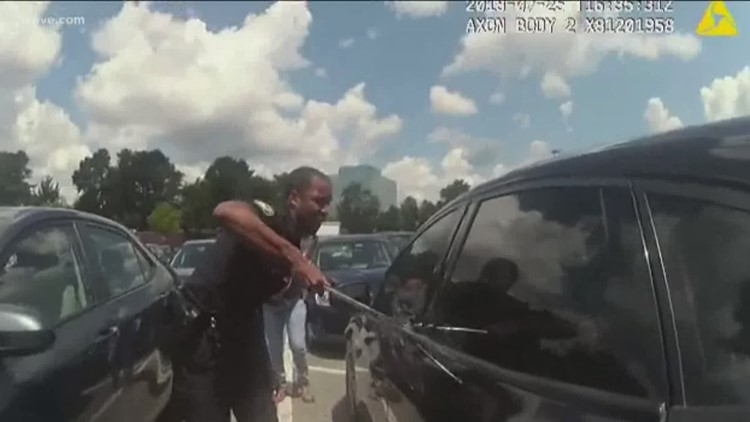 Video Shows Officers Saving Child From Hot Car After Grandmother