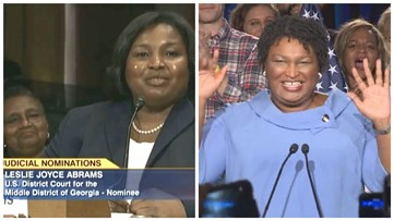 Yes, Stacey Abrams' sister was assigned federal election lawsuit...but that's not the whole story