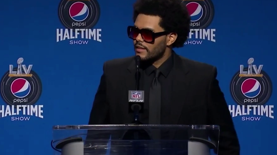 The Weeknd answers burning questions ahead of Super Bowl performance
