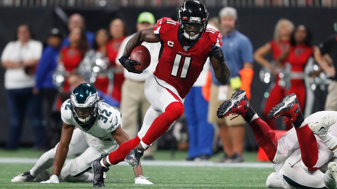 Falcons Julio Jones touchdown receiver ran 20 mph | 11alive.com