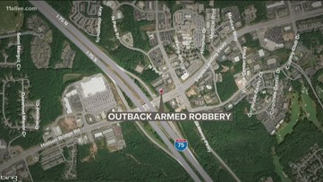 Police: No one hurt in armed robbery at Stockbridge steakhouse