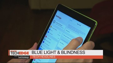 Blue light could accelerate blindness