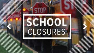 LIST: School closings and delays