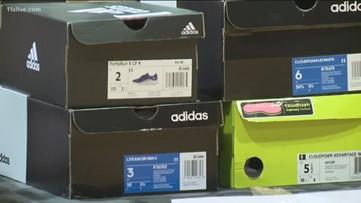Atlanta Hawks gift 65 Decatur kids sneakers