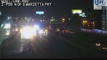 Lanes reopen on I-75 SB after fatal crash