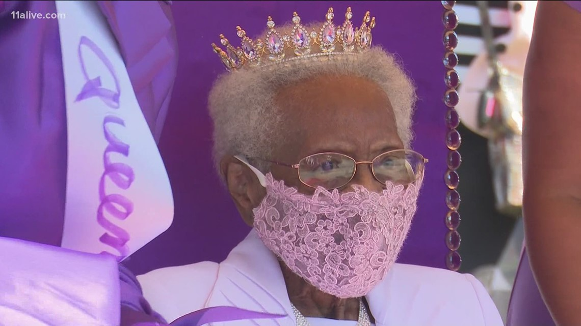 Georgia woman turns 100, celebrates with birthday parade