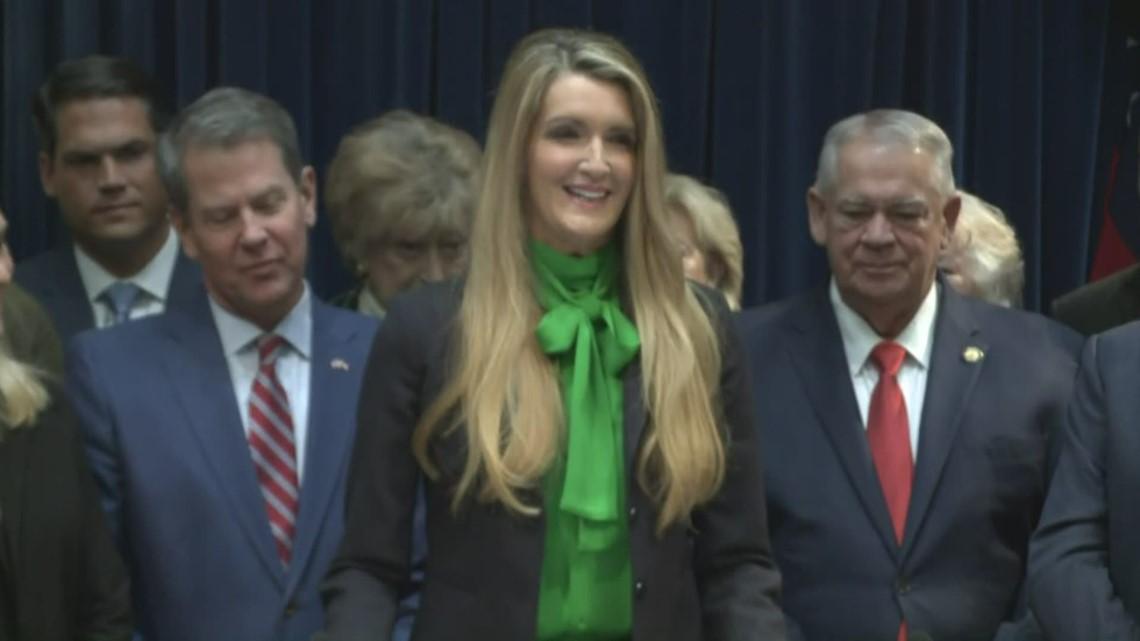 Gas Companies In Georgia >> Kelly Loeffler Georgia Senate appointee full speech   11alive.com