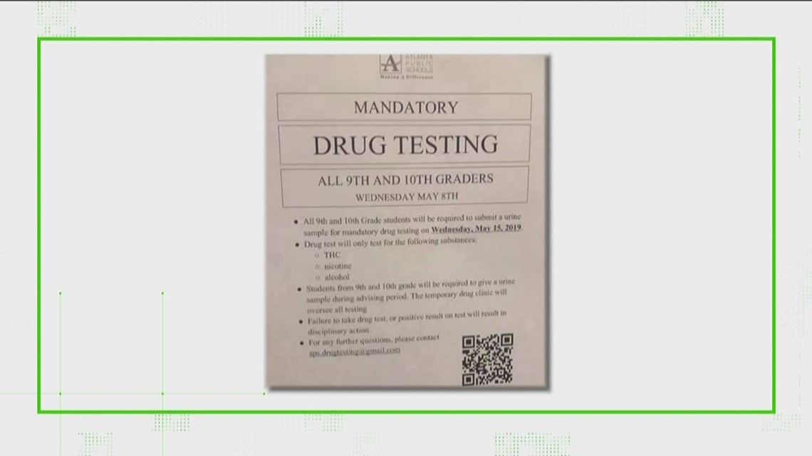 Is Atlanta Public Schools planning to drug test students?
