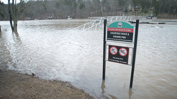 Lake Lanier swells to second-highest water level ever