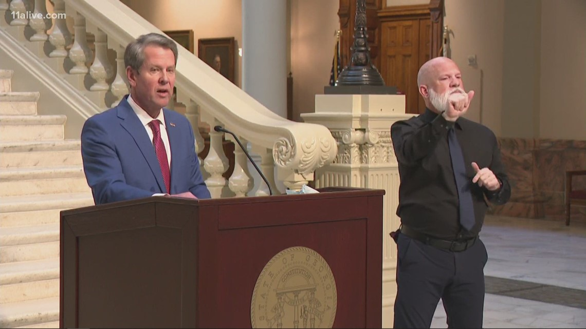 Gov. Kemp announces expanded criteria for those eligible for vaccine, including educators
