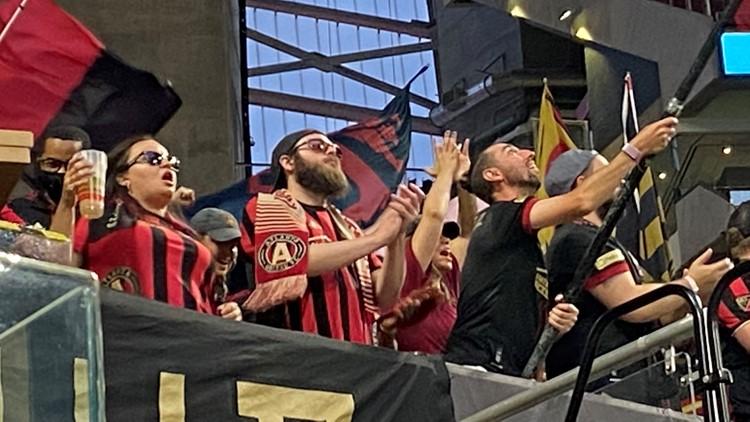 PHOTOS: Full capacity at Atlanta-United game
