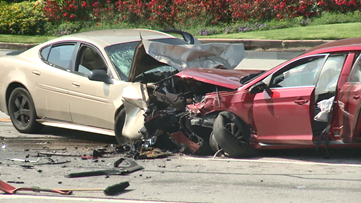 South Cobb Drive reopens after serious 3-car accident