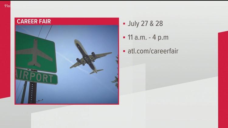 Hartsfield-Jackson Atlanta International Airport to hold career fair
