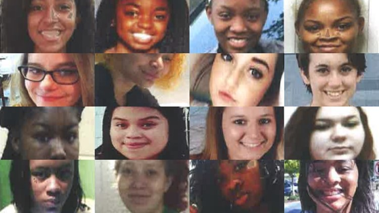 Teens missing in Atlanta