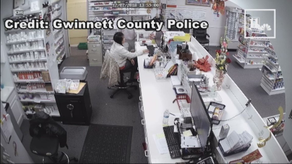 Men accused of assaulting woman during armed robbery at pharmacy