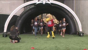 Falcons Youth Foundation hosts annual field day