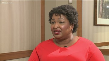 Stacey Abrams describes meeting with Hollywood executives as 'incredibly productive'