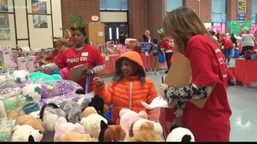 'I get to put smiles on my family's faces' | Project Gift teaches children how to give to others