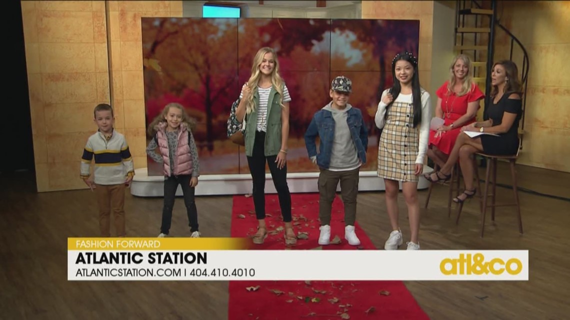 Back to School Fall Fashions with Atlantic Station