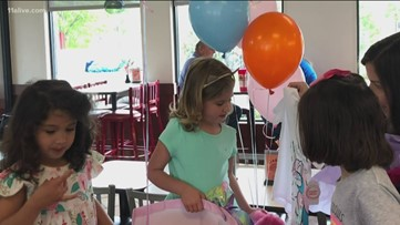 'Fun Fridays' have new meaning as Cobb County girl celebrates final round of chemo