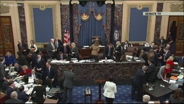 Democrats resume opening statements at impeachment trial Thursday