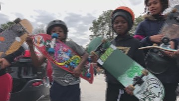 Christmas came twice for the children of one Ormewood Park apartment complex
