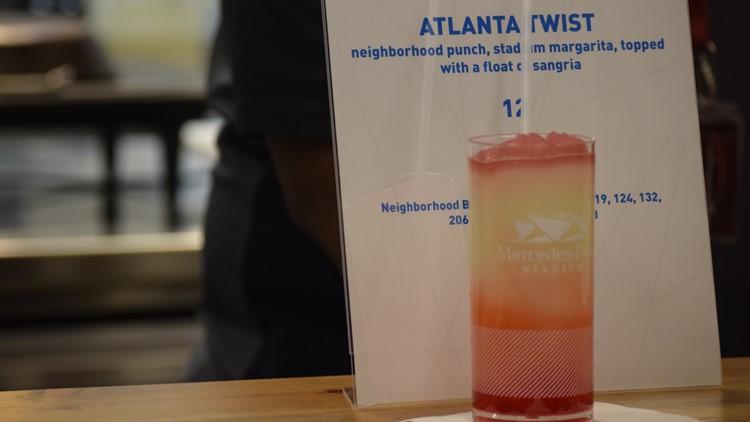 Atlanta Twist cocktail Super bowl 53