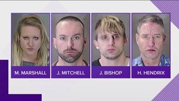 Four people arrested in Brookhaven drug bust