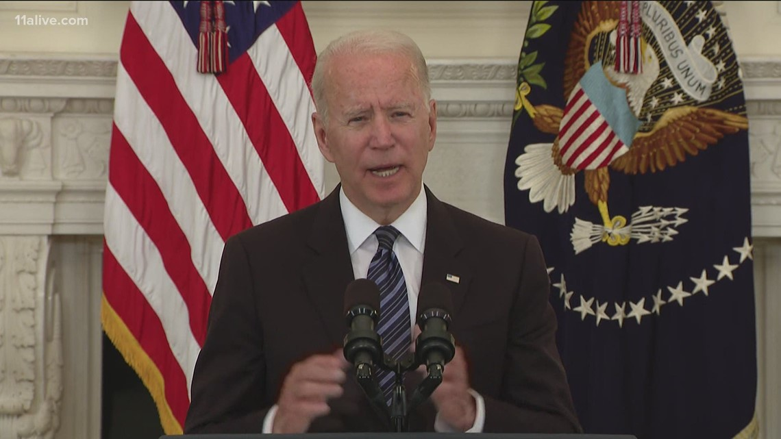 Biden pledges to crack down on gun dealers who violate laws
