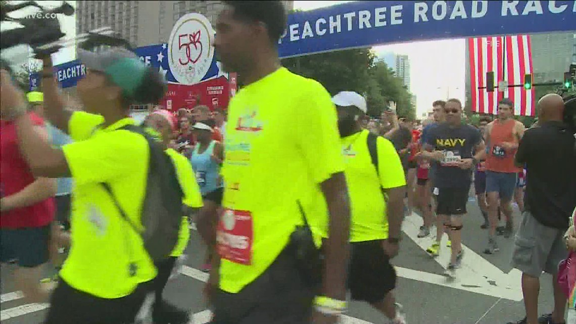 AJC Peachtree Road Race will take place over two days