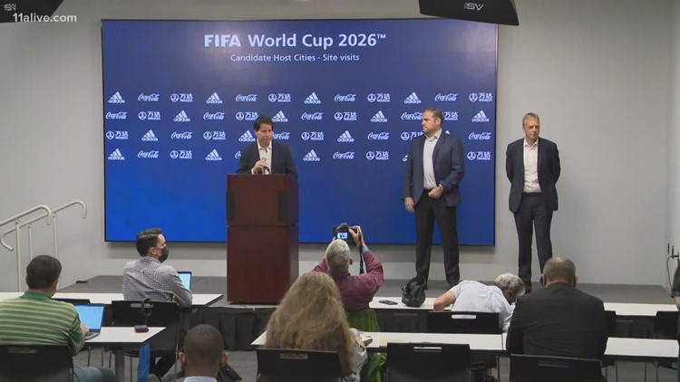 World Cup officials tour Atlanta as they scout potential host cities for 2026 games
